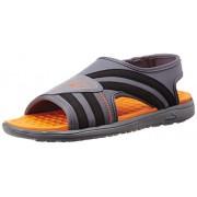 Puma Men's Faas slide Ind. Folkstonegray-Vibrant Orange Athletic & Outdoor Sandals - 9 UK/India (43 EU)