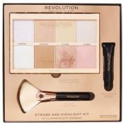 Makeup Revolution Strobe&Highlighting Kit