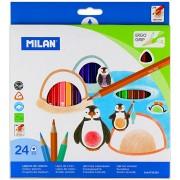 Ceruza színes Milan 24-es 211