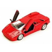 Lamborghini Diablo Hard Top, Red - Maisto 31903R - 1/24 Scale Diecast Model Toy Car