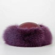 Christian Dior Cappello In Pelle E Pelliccia Autunno-Inverno Art. 75601