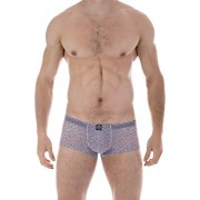 L'Homme Invisible Copacabana Mini Boxer Brief Underwear Grey/Black MY18-COP-001