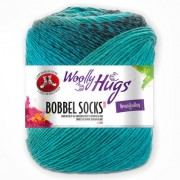 Woolly Hugs Bobbel Socks Color von Woolly Hugs, Mint