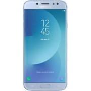Telefon Mobil Samsung Galaxy J7 2017 J730F 16GB Dual SIM 4G Silver Blue Bonus Husa telefon Spacer UltraSubtire