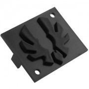 Emblema neagra Bitfenix pentru carcasa Shinobi