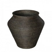 AMAZON Snake Basket, L - Deep brown