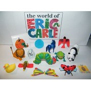 The Very Hungry Caterpillar and Friends from World of Eric Carle Deluxe Party Favors Set 14 with Figures, Tattoo, Sticker Caterpillar, Blue Horse, Lonely Firefly More