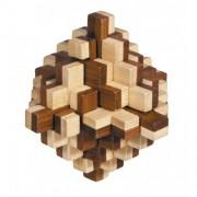 Fridolin Joc logic IQ din lemn bambus 3D Iceberg
