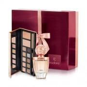 Kit La Victorie Eau De Parfum + Palette Divina Eudora