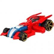 Hot Wheels 1:64 Marvel Die-Cast Car - Spider-Man No 4/4, Multi Color