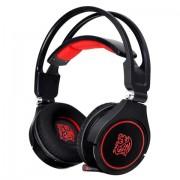 Tt eSPORTS HT-CRA-ANECBK-14 Stereofonico Padiglione auricolare Nero, Rosso cuffia e auricolare