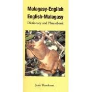 Malagasy-English, English-Malagasy: Dictionary and Phrasebook, Paperback/Janie Rasoloson