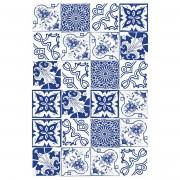 Floorart Tapis vinyle Floral indigo - 133x200 cm