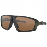 Oakley Field Jacket Polarised Sunglasses - Matte Black/Prizm Tunsten