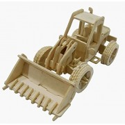 Fabrilla DIY 3D Wooden Puzzle Game Toys -Bulldozer Truck