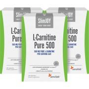 SlimJOY L-carnitina Pura 500 - queimador de gordura. Qualidade suíça. 3x 60 cápsulas