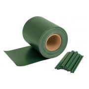 Sichtschutzstreifen für Doppelstabmatten, 35 m x 19 cm, grün