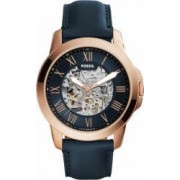 Ceas Barbatesc Fossil ME3102 Grant Gold Navy