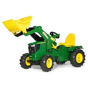 Rolly Toys 611102 Franz Cutter Pedal John Deere 6210 Tractor