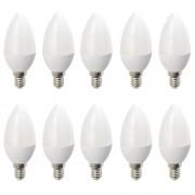 Set 10 Becuri LED Drimus E14 6W lumina rece DL 6062