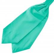 TND Basics Türkisfarbener Basic Krawattenschal