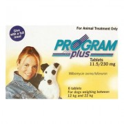 Program Plus Plus For Dogs 21 - 45 Lbs (Yellow) 6 Tablet