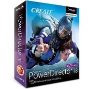 CyberLink PowerDirector 18 Ultimate (elektronikus licenc)