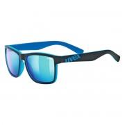 Uvex Occhiale sole Uvex Igl 39 (Colore: nero-azzurro, Taglia: UNI)