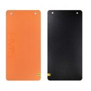 Oranžová fitness podložka na cvičení MFK01 - délka 110 cm, šířka 55 cm a výška 1,5 cm
