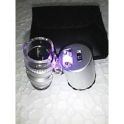 60X Jewelry Loupe Led Lighted Magnifier Microscope