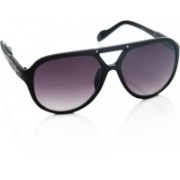 Louis Philippe Over-sized Sunglasses(Violet)
