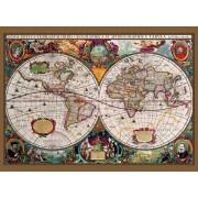 Wallpaper Antieke Map Fotobehang (Wallpaper)