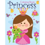 Princess Coloring Book: Pretty Princesses Coloring Book for Girls, Boys, and Kids of All Ages, Paperback/Blue Wave Press