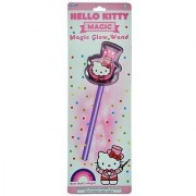 Hello Kitty Magic Light Up Glow Wand By Sanrio Over 10 Long! Just Bend & Shake to Activate