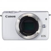 Sistemski fotoaparat Canon EOS M10 kućište (Body) 18 mio. piknjica, bijele boje, zaslon osjetljiv na dodir, Full HD Video