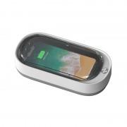 Sterilizator UV pentru dezinfectarea telefoanelor - alb