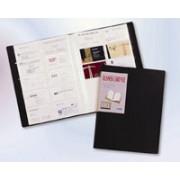 BEAUTONE BUSINESS CARD FILE B/TONE 120x190 BLACK 144 CARDS(EACH)