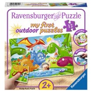 Puzzle Prietenii dinozaurilor, 12 piese