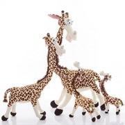 BIBITIME African Stuffed Giraffes Toy Plush Giraffe Camelopardalis Giraffish Pillow,29.53 in