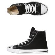 Boys Chuck Taylor All Star Hi Top Shoes Canvas Black