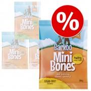 Икономична опаковка Barkoo Mini Bones 4 x 200 гр или 8 x 200 гр - Агнешко месо 8 x 200 гр