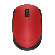Logitech Wireless Mouse M171 Red Оптична Безжична Мишка