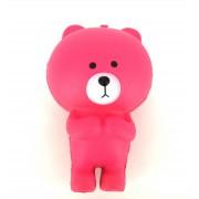Squishy Antistress Ursulet Teddy Parfumat cu Revenire Lenta (Roz)