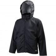 Helly Hansen Kids Junior Voss Rain Jacket Black 128/8