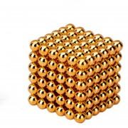 EH Imán Magic Bolas 216pcs Juego de Puzzle magnético 5mm dorado