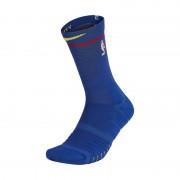 Golden State Warriors City Edition Nike Elite Quick NBA-Crew-Socken (Unisex) - Blau
