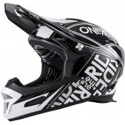 Oneal Fury RL Fuel Casco descenso Negro/Blanco M (57/58)