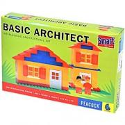 TINGO KING Puzzle Brain Sharp Mind Games Leaning Educational Pre school Toys Multi Color Block Construction KB Basic Architect Set No. 105