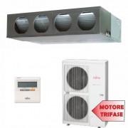 Fujitsu Condizionatore TRIFASE Mono Split Commerciale Gas R410A Canale Serie LM 45000 Btu ARYG45LMLAT AOYG45LATT /