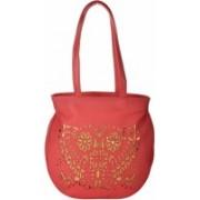 Cuddle CUDCUTHBD3Peach Pink Hand-held Bag